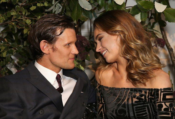 Matt Smith and Lily James – 1