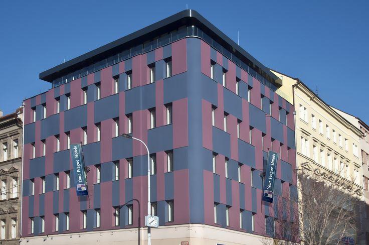 Exterior Hotel Galileo www.hotelgalileoprague.com