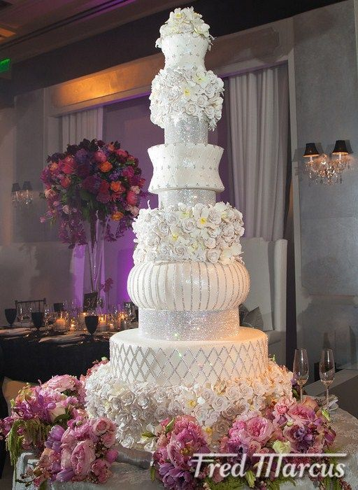 Over The Top Crazy | Frosted Art Over the Top Wedding Cakes Todd Events Fred Marcus ...
