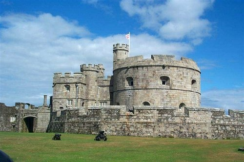 Pendennis Castle, Falmouth, Cornwall.