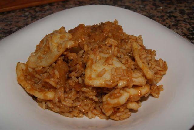 receta de patatas con arroz