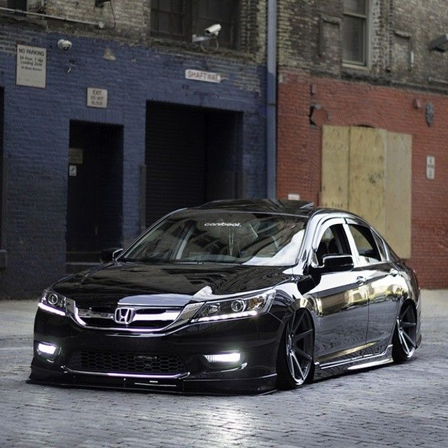 Sunkin Accord #slammed #stanced #accord #illest #jdm #hellaflush #fitted #bagged #lowered # ...