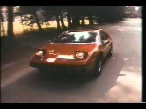 1984 Pontiac Fiero Commercial