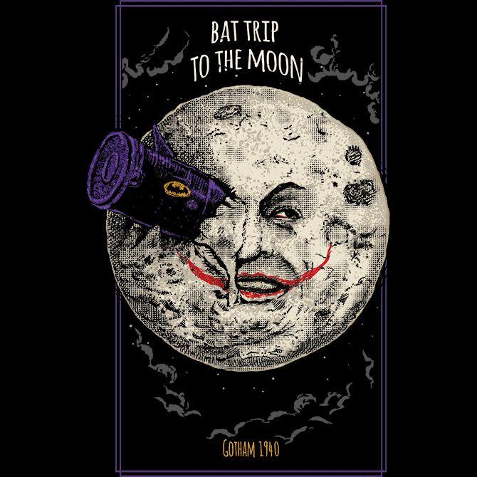Camiseta 'Bat Trip' no Camiseteria.com .