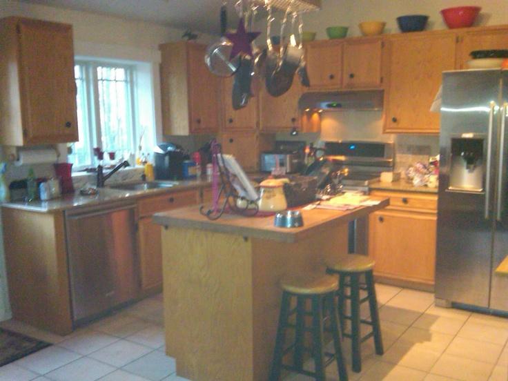 Raised Ranch Kitchen