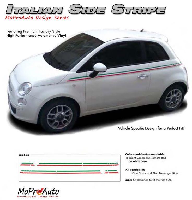 9 best 2011 2015 Fiat 500 Vinyl Graphics Stripes images on Pinterest