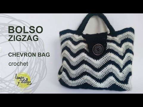Basket or bag to step Crochet fettuccia - YouTube