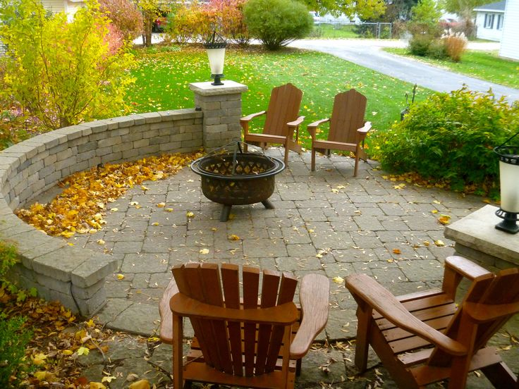 Amazing Unilock Backyard Patio, Seat Wall And Plantings. Lombard, IL.
