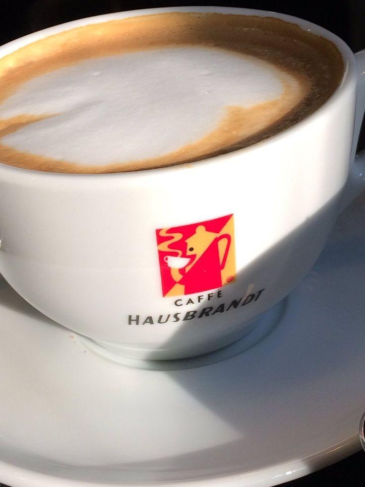 #Hausbrandt #Capuccino #PerfectCoffee #Enjoy @Coffee House Kos