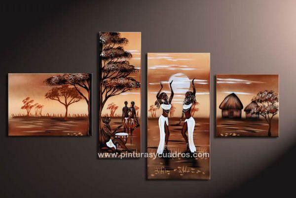 Cuadros de africanas modernos - Imagui