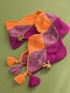 Autumn Leaves Scarf by Nijole Hunter