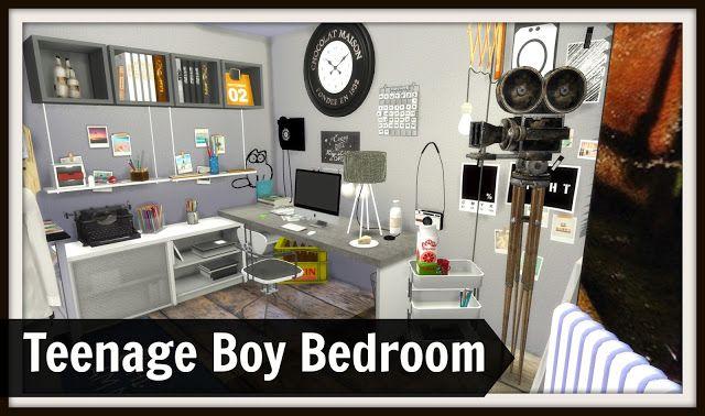 Sims 4 - Teenage Boys Room