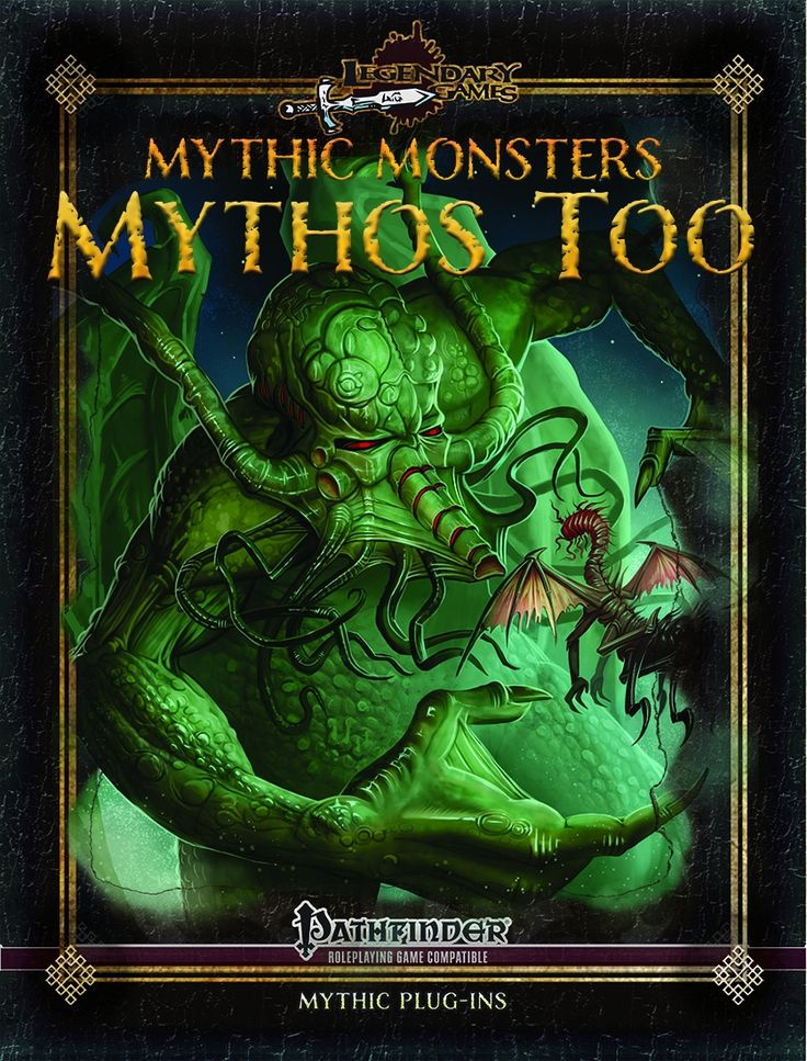 Mythic Monsters: Mythos Too -  we kick off this installment of the Mythic Monsters-series with a supplemental piece of content – this time with what can be considered a definition of creatures of the farthest realms beyond - if you're smelling 3.X's excellent Kaorti, wystes and similar creatures - well, the rules for alien cysts and the odd resin they use for weaponry confirms just that: We get rules for creatures distinctly from the material plane, but more alien than most outsiders can…