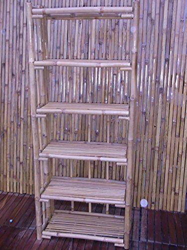 Bambusregal Bücherregal Bambusmöbel Badregal Schuhregal Wandregal Regal  Bambus 170 X 70 X 34 Cm