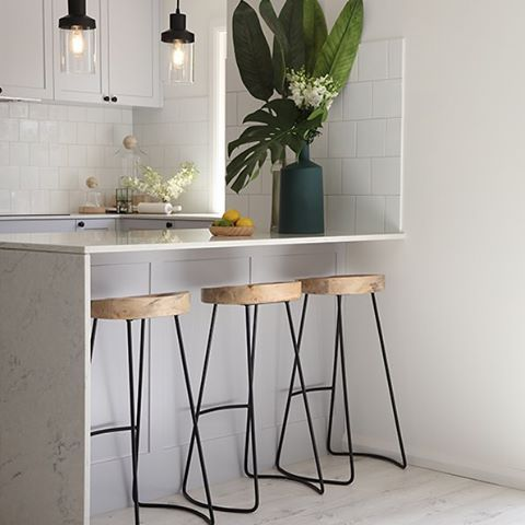 Spotted! Check out our Tractor stools spotted in the latest kitchen transformation by @threebirdsrenovations ! Love this look ? #ozdesign #ozdesignfurniture #threebirdsrenovations #tractorstools #kitchenstools #stools #industrial #renovation #diy #moderncoast #hamptons #styling #design #style #interiors #kitchen #homemakeover #getthelook #sundaystyleloves #besthomes #dreamspace #pinterest