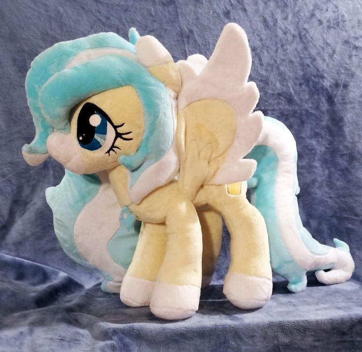 Vanilla Snowflake :OC Plush Commission: by AppleDew.deviantart.com on @DeviantArt