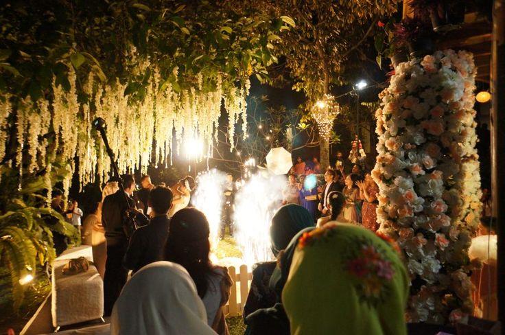 fireworks @ Rumah Kebon Cengkeh Bandung, Indonesia