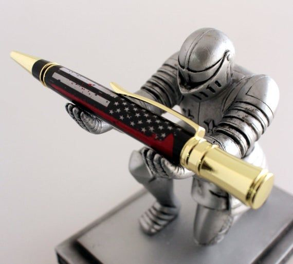 Thin Red line Flag Pen Blank