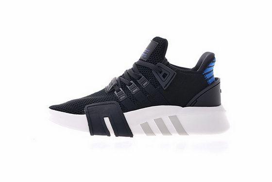 sale retailer ec155 11436 Adidas EQT Basketball ADV Black White Blue 2018 Official Shoe