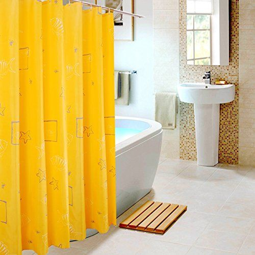 Nice Shower Curtain Made With Strong And Durable Premium Polyester Is  Mildew Free, Non