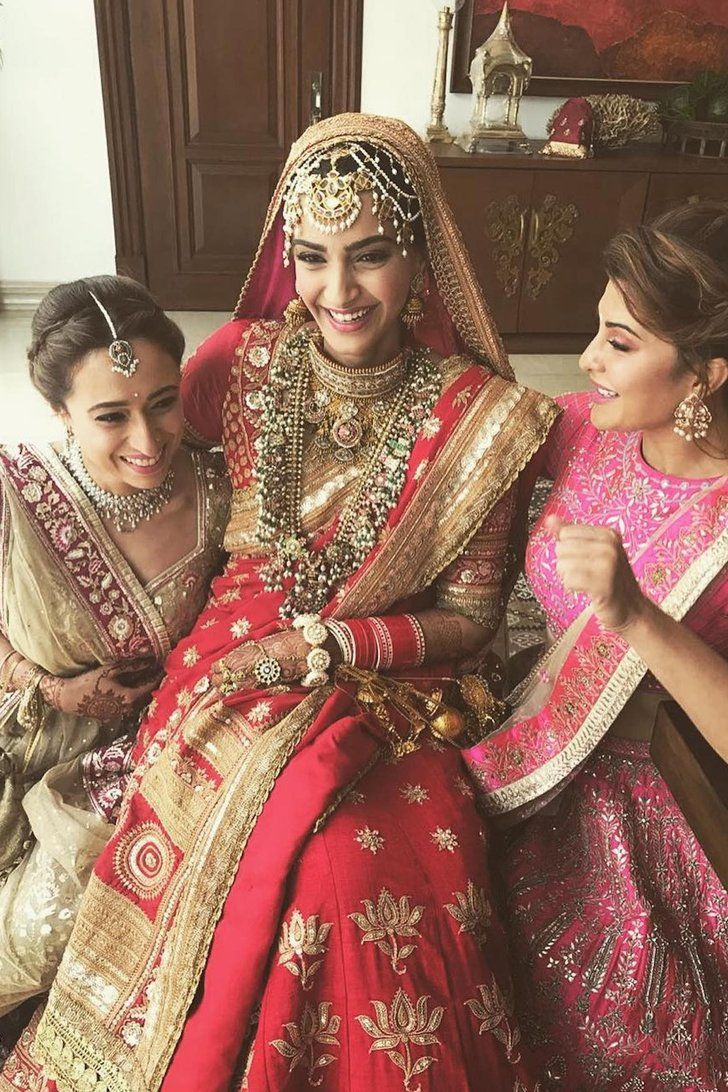This Bollywood Actress S Wedding Outfit Is So Stunning It Ll Take Your Breath Away Sonam Kapoor Wedding Bollywood Fashion Indian Bridal Dress