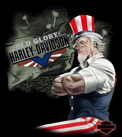 Old Glory Harley-Davidson | I Love Harley Bikes
