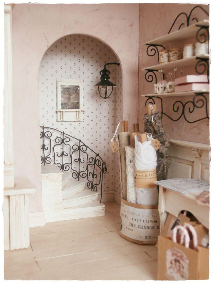 miniature shop fabrics and more dollhouse