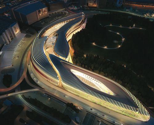 "Zaha Hadid Architects — ""FREITAG"": The Circle at Zurich Airport"