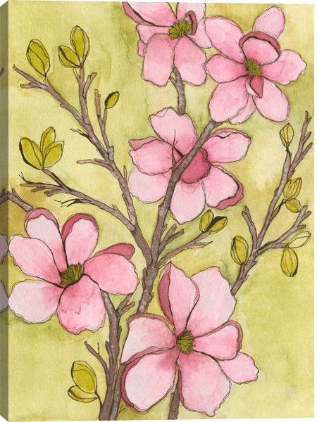 59 best Fabulous Florals images on Pinterest   Canvas art paintings ...