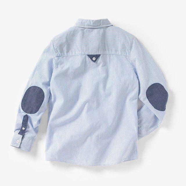 Camisa a rayas con coderas 3-12 años R kids