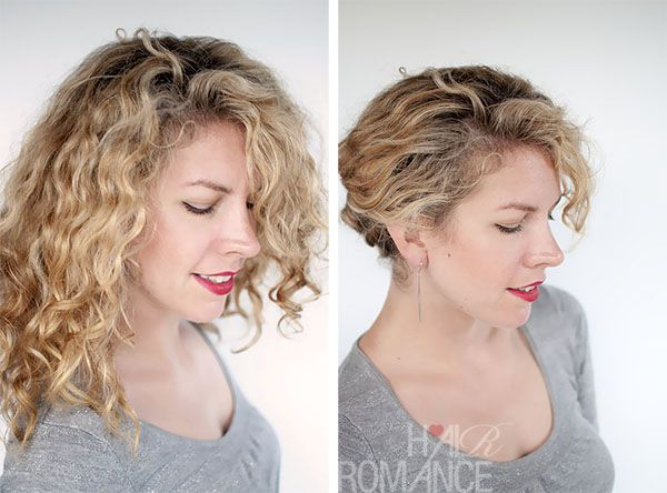 Easy travel hairstyle how-to: The Twist and Pin updo