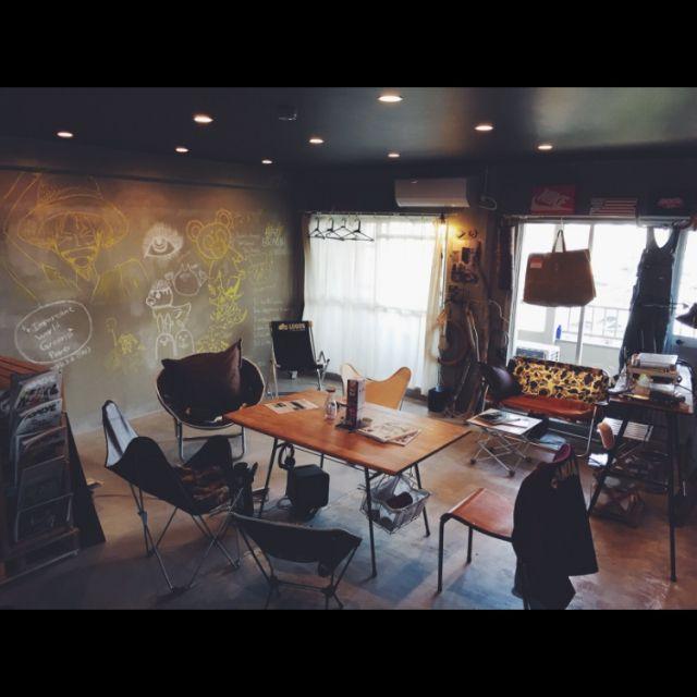 ブランケット/ハンドメイド/関節照明/シアタールーム/フォトグラファー /リノベーション…などのインテリア実例 - 2015-03-17 15:56:29 | RoomClip(ルームクリップ)