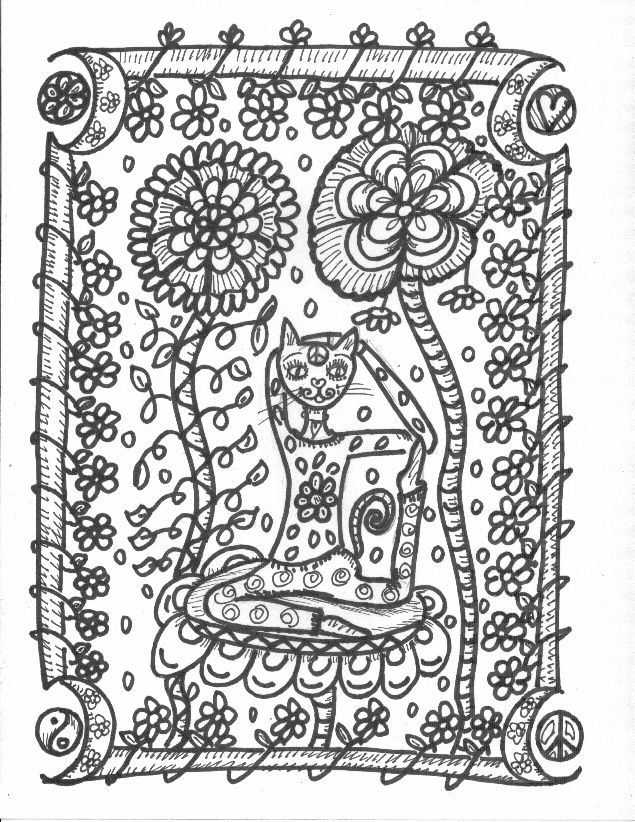 Yoga Coloring Book Yoga Coloring Pages Yoga Top 20 Kids Yoga Poses ...