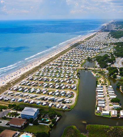 Top 5 North Myrtle Beach Campgrounds To Enjoy RV Camping