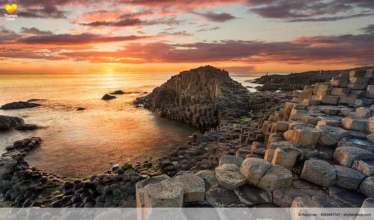 """Giant's Causeway (""""Damm der Riesen""""), Antrim, Nord-Irland"""