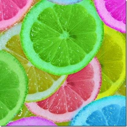 Luau Party Food Ideas - Good Recipes Online Let oranges or lemons soak in food coloring… Freeze and you could put them in a super cute punch. Cute idea for a bridal or baby shower, or just a hot summer day.