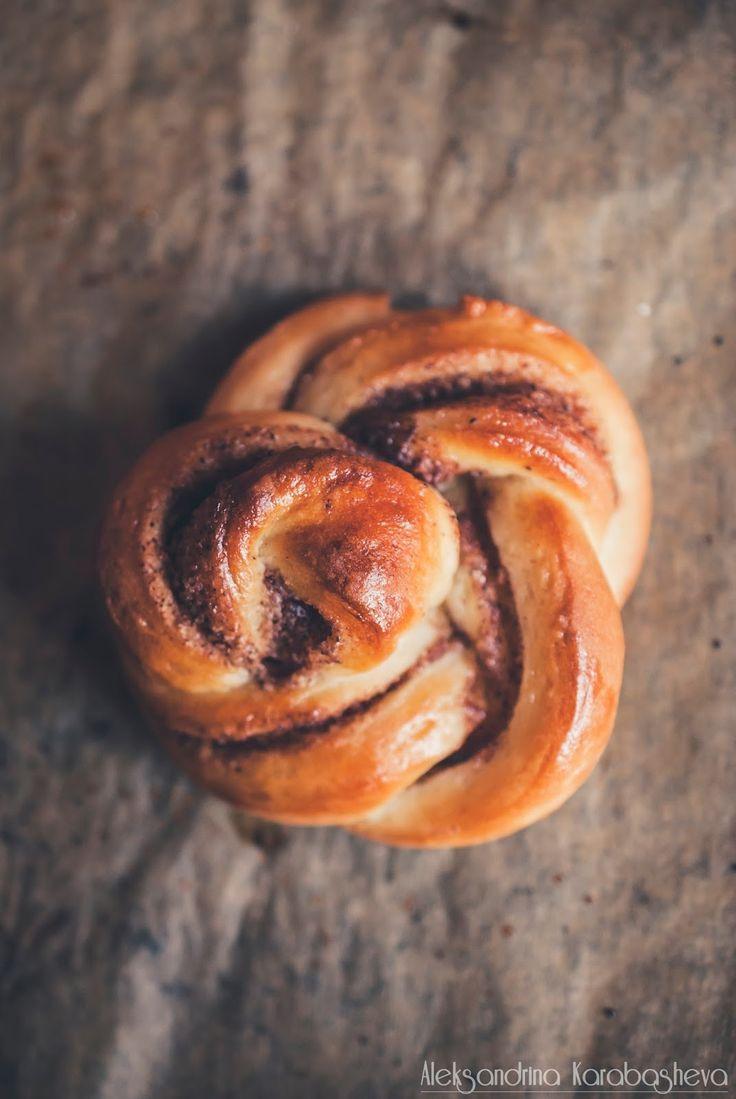 Kanelbullar or Swedish Cinnamon Rolls! Easy step by step recipe on the blog. :)