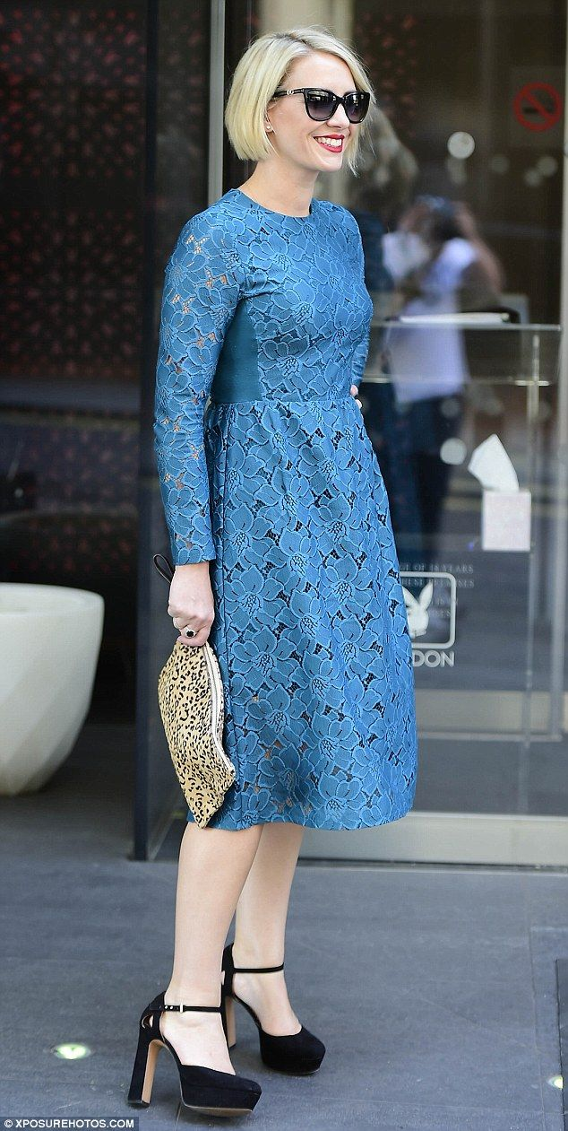 Weighty issue:Claire Richards looked slimmer than ever as she made an entrance at a beaut...