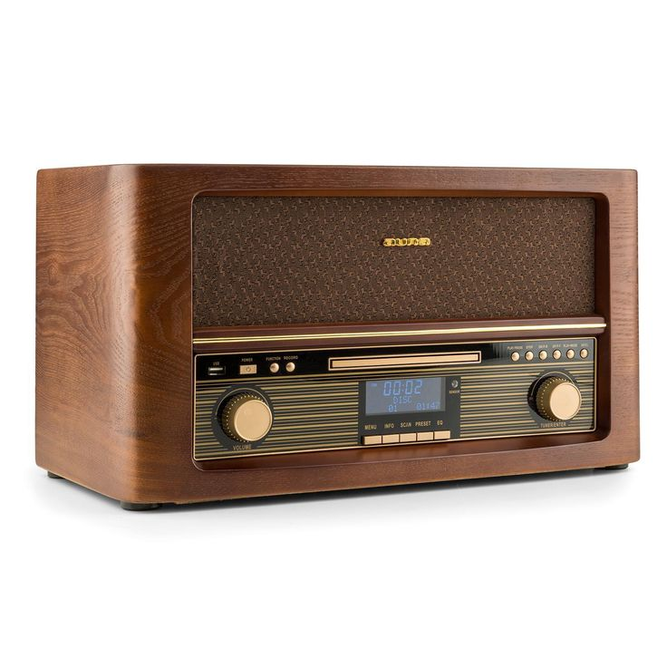 Mini stereo stereo hifi bluetooth cd player usb mp3 fm tuner retro design …   MINI chaîne stereo Hifi Bluetooth Lecteur CD USB MP3 tuner FM Design rétro bois – EUR 159,99. 10030662 auna Belle Epoque 1906 DAB Chaîne hifi rétro Bluetooth CD USB MP3 FM DAB digital et radio avec fonction RDS et récepteur analogue FM Fonction encodage direct USB-MP3 depuis un CD ou AUX sur un dispositif USB –> DAB digital et radio avec fonction RDS et récepteur analogue FM/AM Interface Bluetooth pour lire de la musique depuis un smartphone, une tablette ou un ordinateur Lecteur de …