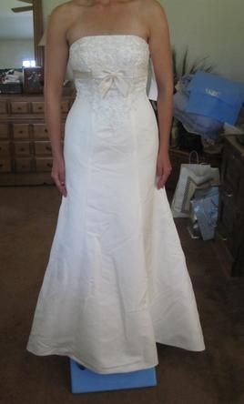 David's Bridal 2: buy this dress for a fraction of the salon price on PreOwnedWeddingDresses.com