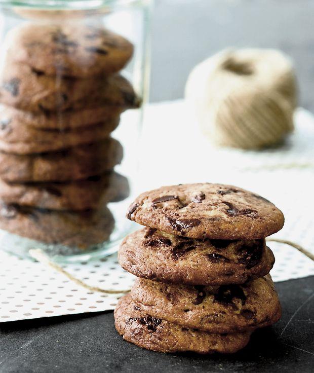 Sprøde udenpå og chewy indeni. Vi elsker hjemmebagte cookies