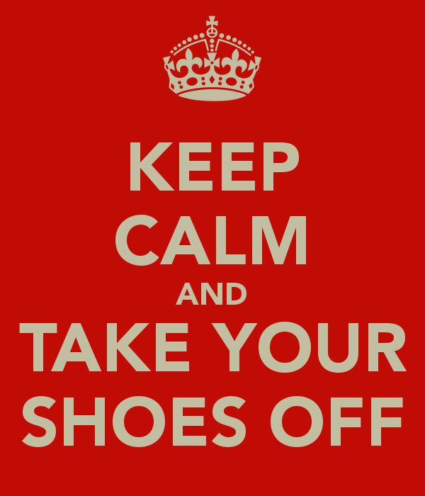 take your shoes off sign - Google Search