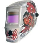 Antra Solar Power Auto Darkening Welding Helmet with Large Viewing Size 3.86 in. x 2.09 in. Great for MMA, MIG, TIG