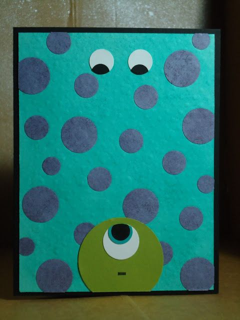 Coffee Table Crafter: Monsters University!!!