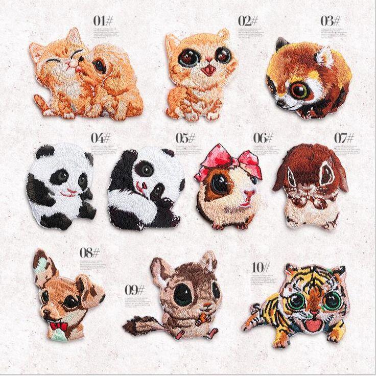 Znajdź więcej Patches informacji o 2017 nowy haft tkanina Żelazo na cute panda zwierząt ODZNAKA PATCH DIY dekoracyjne mody ubrania, wysokiej jakości iron on, dostawcach embroidery iron on z Chin, tanich iron on patches cute od Mary's Brown Store na Aliexpress.com
