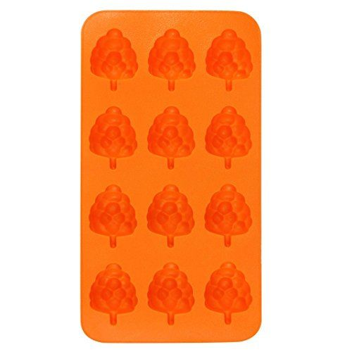 Molyveva Silicone Ice Cube Trays with Animal and Fruit Ice Cubes Molds - Flexible Mini Cocktail Whiskey Ice Cube Mold Storage Containers (Litchi) #Molyveva #Silicone #Cube #Trays #with #Animal #Fruit #Cubes #Molds #Flexible #Mini #Cocktail #Whiskey #Mold #Storage #Containers #(Litchi)