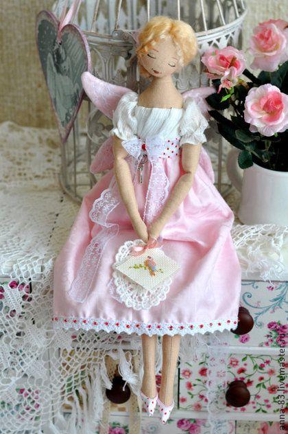 Коллекционные куклы ручной работы. Ярмарка Мастеров - ручная работа Фея рукодельница. Handmade.
