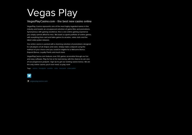 Vegas Play's page on about.me – http://about.me/vegasplaycasino