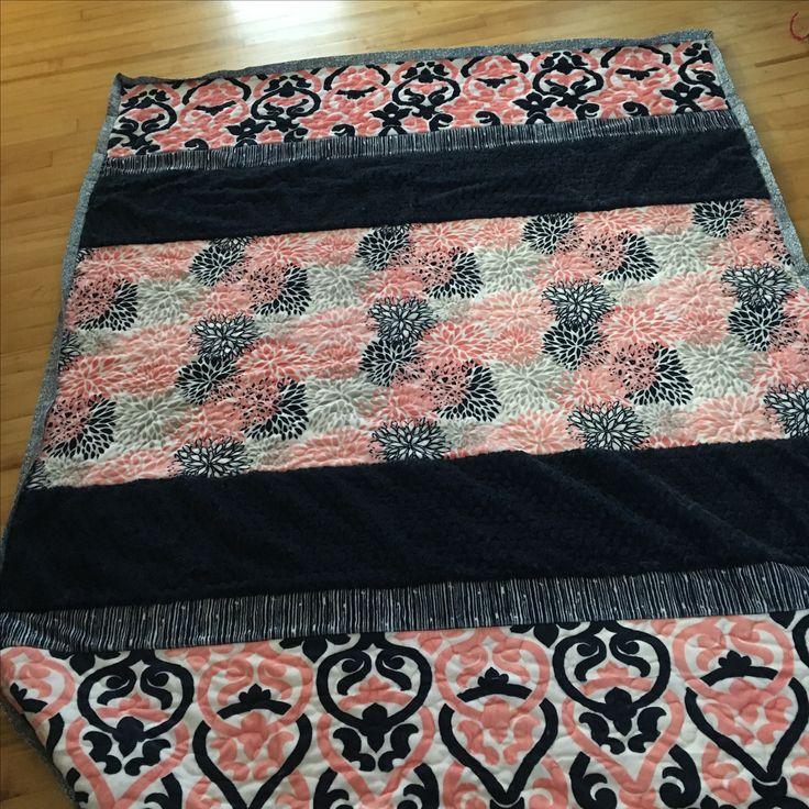 Minky quilt