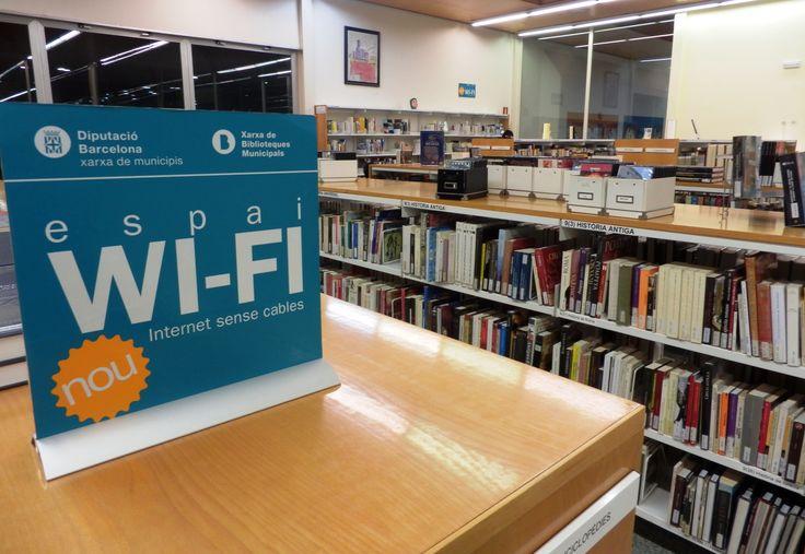 Àrea d'adults de la biblioteca.